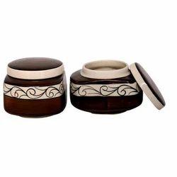Fancy Ceramic Jar Set