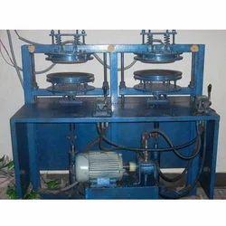 Semi Automatic Double Die Hydraulic Dona Machine
