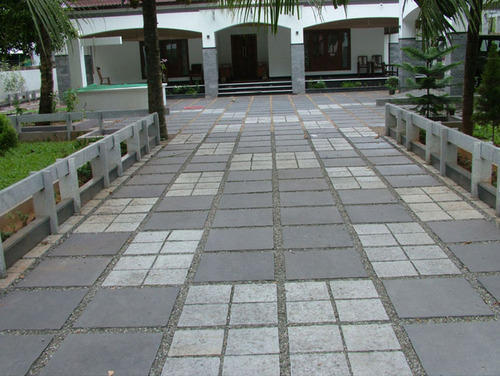 Floor Stone Tile Driveway Floor Tile Manufacturer From Kochi