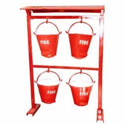 Iron Fire Stand Bucket
