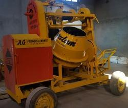Concrete Mixer with Hoist