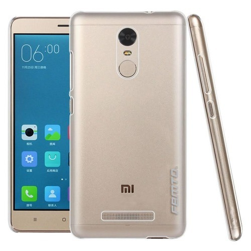 lowest price 272c9 327a8 Xiaomi Redmi Note 3 Transparent Back Cover