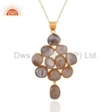 925 Silver Jewelry Agate Gemstone Pendant