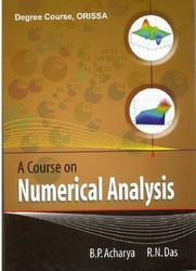 A Course On Numerical Analysis