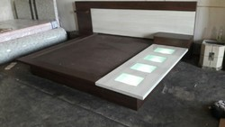 Vishwakarma Furnitures 6*6 Designer low floor Bed