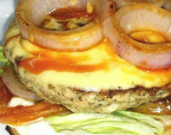 Single Layer Burger