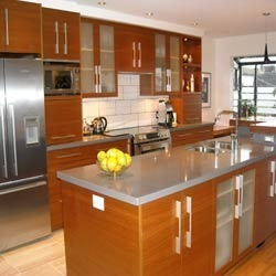 Indian Modern Kitchen Interior Designing Service In Vadodara M B Interiors Decorator Id