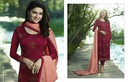 Vinay Fashion Georgette Diamond Work Salwar Kameez