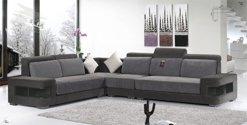 L Shaped Corner Sofa, Chairs, Sofas & Seating Furniture | Royal Life ...