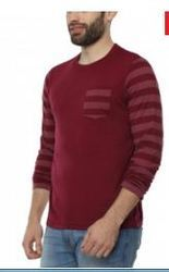 Pepperclub Mens Cotton Round Neck Full Sleeve T-shirt