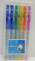 Glitter Pens Pack Of 6