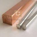 Copper Square Rod