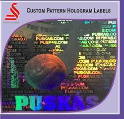 Custom Patterns Holographic Labels