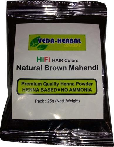 Natural Brown Henna Color, for Parlour