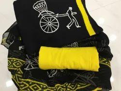 Bagru Hast kala Printers Cotton, Chiffon Bagru Suit Sets