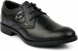 Lee cooper Black Formal Shoes, Size: 10