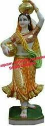 Rajasthani Bani Thani Marble Statue
