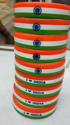 Independence Day Rubber Wristband