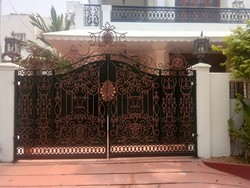 Paint Coated Ornamental Gate
