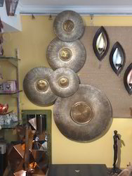 Gold And Silver 3d FRP Wall Art