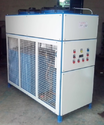 Steel Three Phase 4tr Industrial Process Brine Chiller