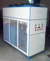Steel Three Phase 4TR Industrial Process Brine Chiller