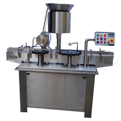 Two Head Vial Filling & Stoppering Machine