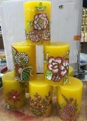 Designer Wax Candles