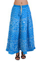 Jaipuri Bandhini Hippie Long Skirt