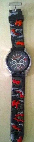 PVC Silicone Watch