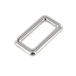 Silver Single Loop Belt Sliders