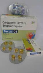 Cholecalciferol, Soft Gelatin Capsules
