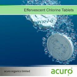Effervescent Chlorine Tablets