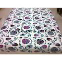 Designer Bed Sheets Suzani Pan Design Embroidery
