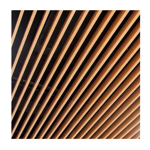 Armstrong Wood Baffle Ceiling
