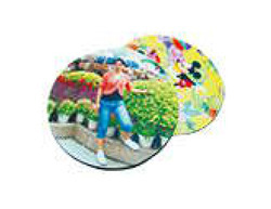 round shape mouse pad