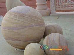 Stone Balls in Teakwood Sandstone