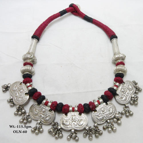 ethnic neclace tamil jewelry tharu wickman old necklace nepal karlsson
