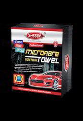Microfiber Wax And Polish Towel