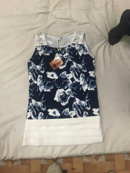 Girls Sleeveless Top