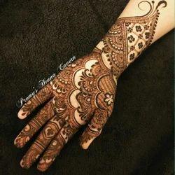 Female Half Hand Mehndi Design Services Sneha Mehendi Id