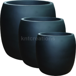 Cylindrical FRP Planters