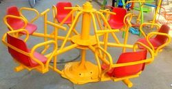 Merry Go Round - Six Plastic Seats Grouted Model