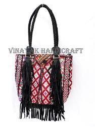 173ac19d7888 Handmade Banjara Suede Leather Fring Sling Bag