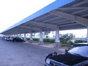 Covered Car Parking Shed
