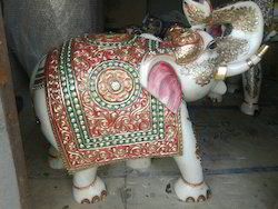 Unique Marble Elephant