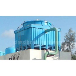 FRP Counter Flow Induced Draft Film Fill Cooling Towers
