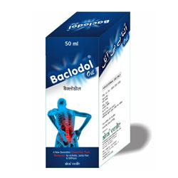 Ayurvedic BACLODOL Pain Relief Oil 50 ml and 100 ml