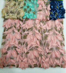 Designer Imported Net Fancy Fabric