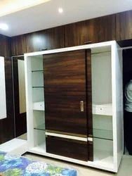 Wooden Sliding Wardrobe Residential Bed Room